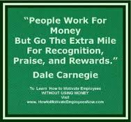 People work for money but extra mile for identity