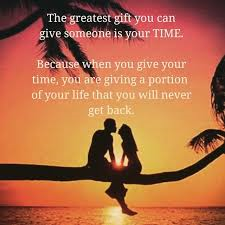 Time is greatest gift