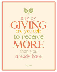 only-by-giving-you-get-more